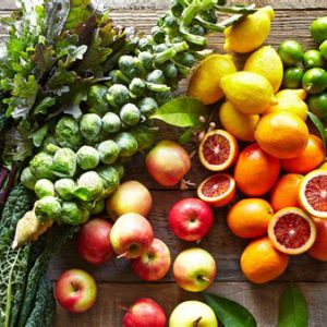 Organically Grown Fruit & Veg
