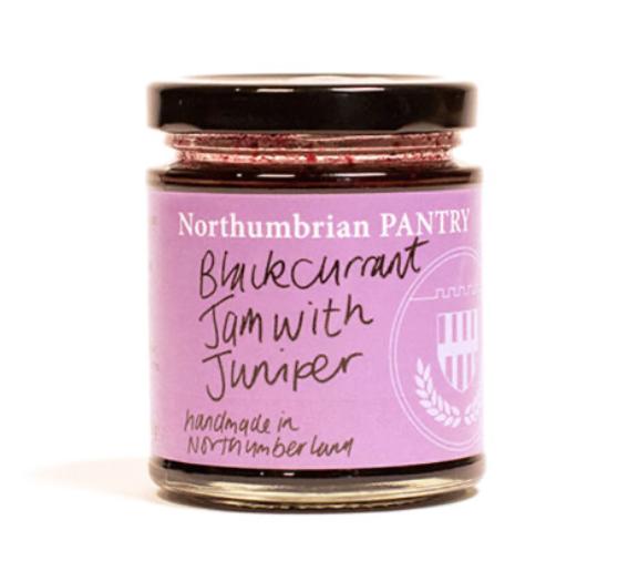 blackcurrant & juniper jam