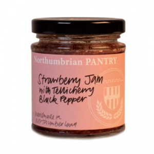strawberry & tellicherry pepper jam
